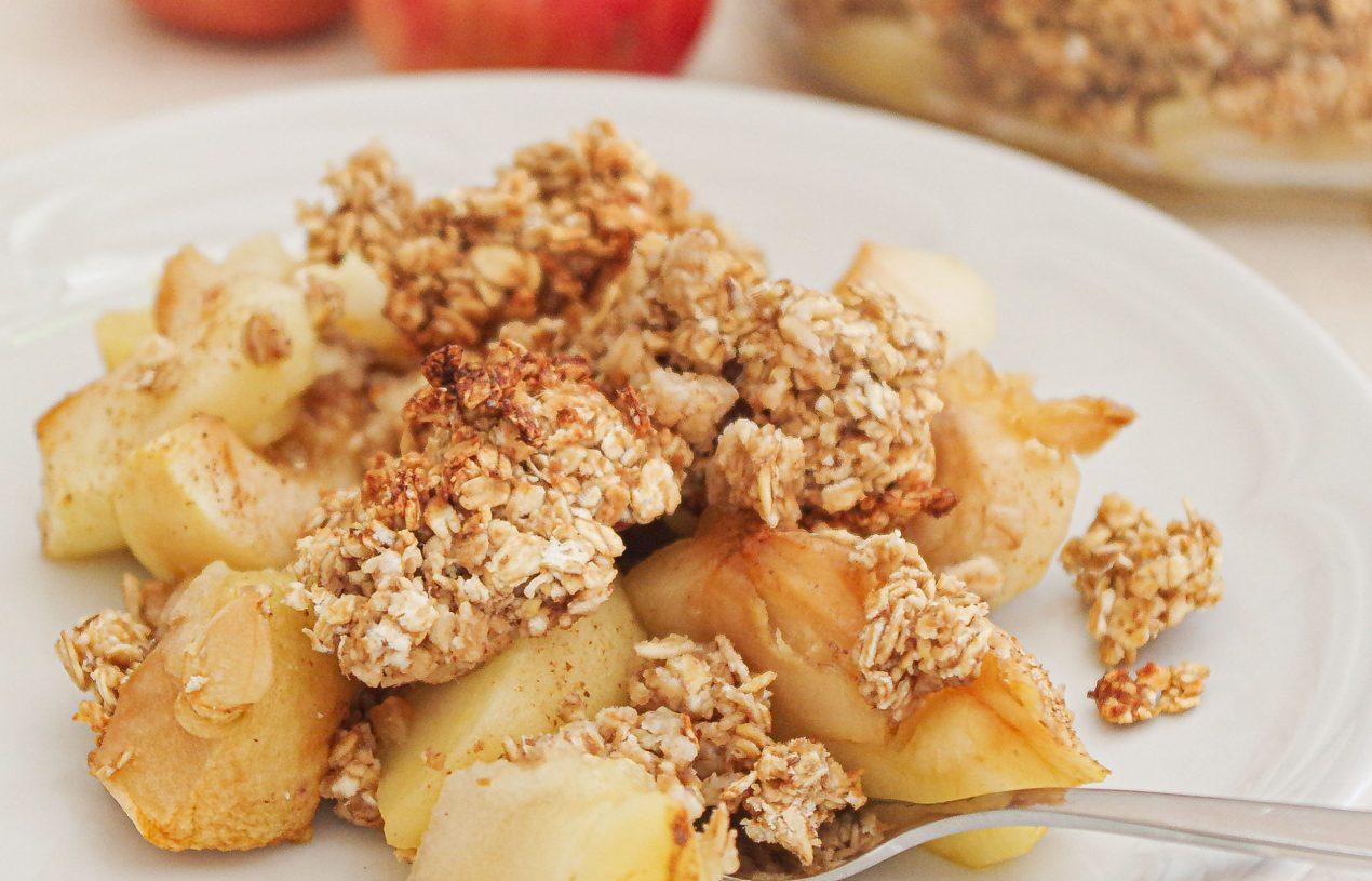 Apfel-Zimt-Crumble